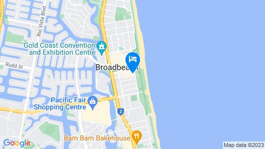 Voyager Resort Map
