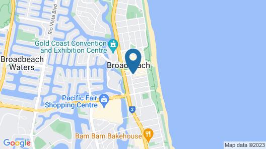 The Oracle Resort Broadbeach - GCLR Map