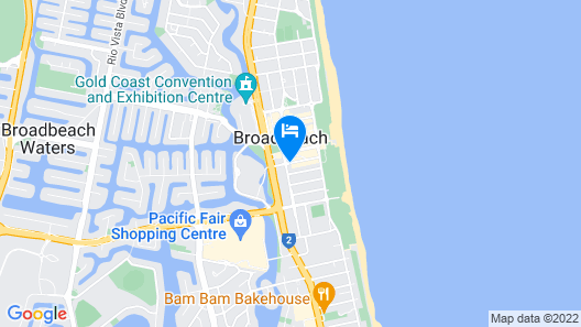 The Oracle Resort Broadbeach - GCLR Map