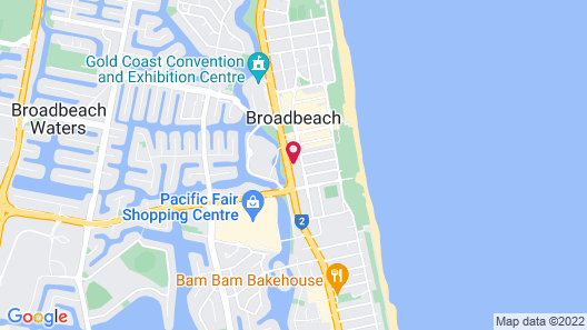 Avani Broadbeach Residences Map