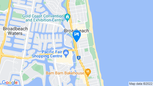 Avani Broadbeach Residences Map
