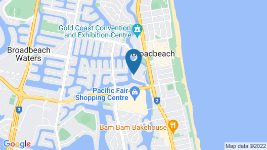 The Darling at The Star Gold Coast Map