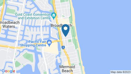 Ultra Broadbeach Map