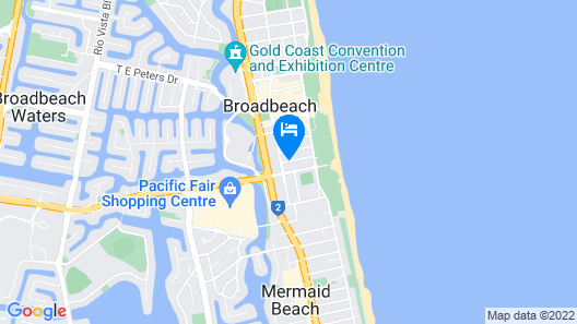 Ultra Broadbeach Map