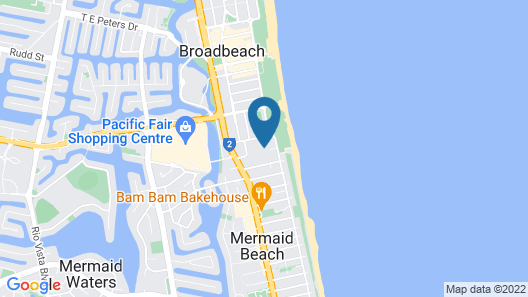 BreakFree Diamond Beach Map