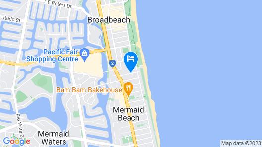 Montego Sands Resort Map