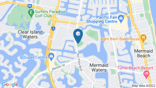 Mermaid Island Beach House Map