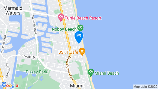 Foreshore Apartments Map