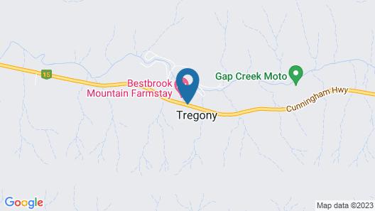 Bestbrook Mountain Resort Map