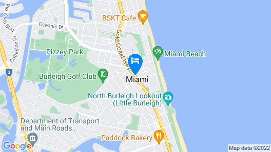 White Lanterns Motel Map
