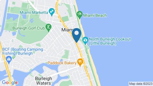 Sunshine Beach Resort Map