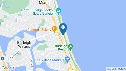 Solnamara Beachfront Apartments Map