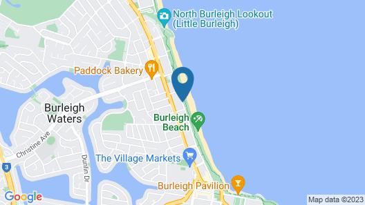 Cashelmara Beachfront Apartments Map
