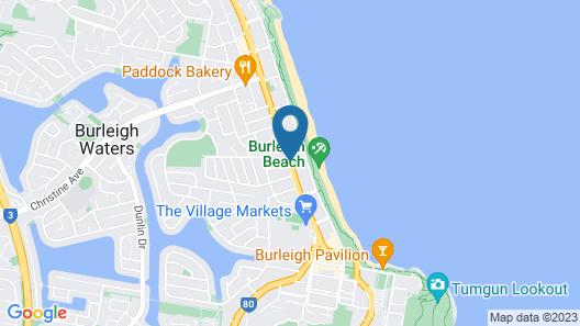 Aussie Resort Map