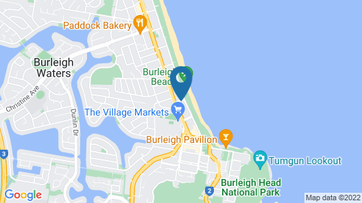 Wyuna Beachfront Holiday Apartments Map