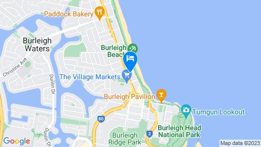 Boardwalk Burleigh Beach Map