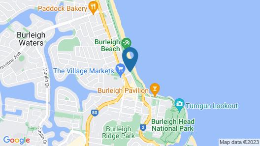 Pacific Regis Apartments Map