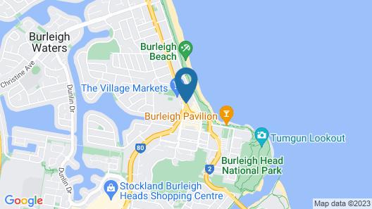 Burleigh Gardens North Hi-Rise Map