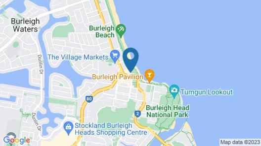 Ambience on Burleigh Beach Map