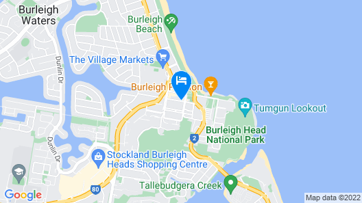 The Village at Burleigh Heads Map