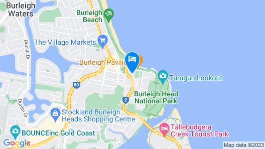 Burleigh Beach Tower Map
