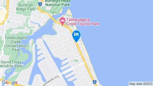 Casablanca Palms on the Beach Map