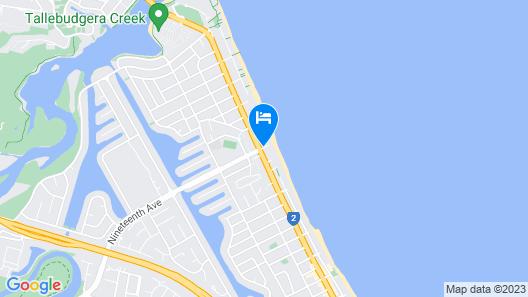 19th Avenue On The Beach Map