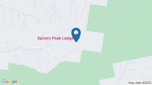 Spicers Peak Lodge - All Inclusive Map