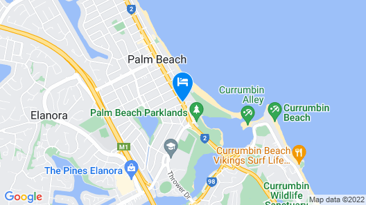 Royal Palm Resort Map