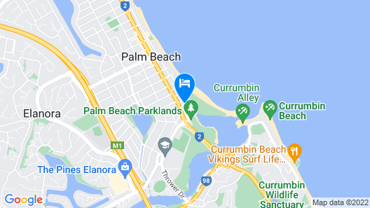 Currumbin Sands Holiday Apartments Map