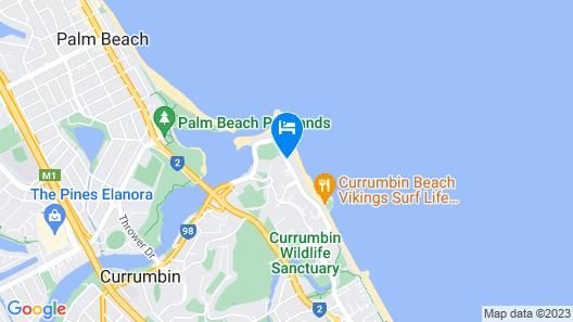 The Rocks Resort Map