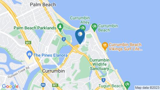 Little Cove Currumbin Map