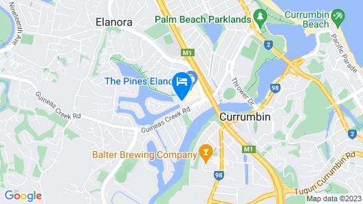 Isle of Palms Resort Map