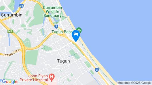 Golden Riviera Beach Resort Map