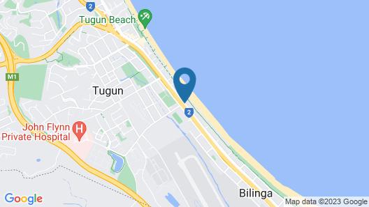 Pelican Sands Beach Resort Map