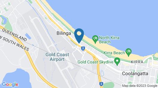 La Costa Motel Map