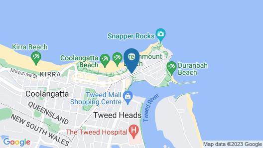 Komune - Gold Coast Map