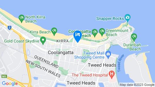 Coolangatta Sands Hotel Map