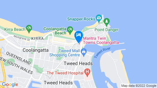 Mantra Twin Towns Map