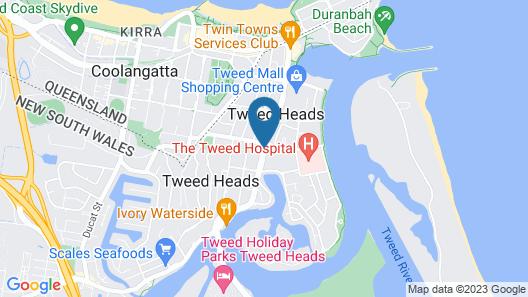 Blue Pelican Motel Map