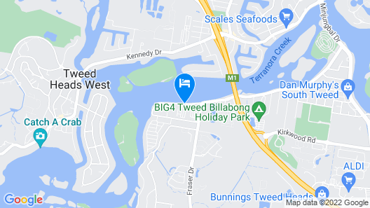 River Retreat Caravan Park Map