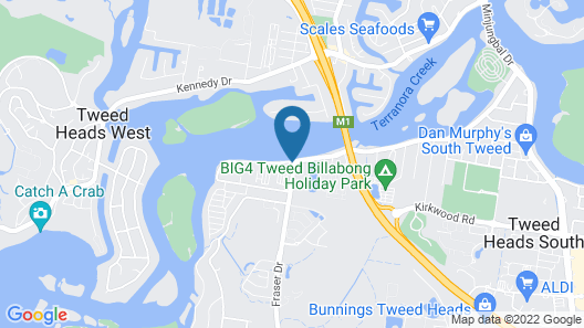 Colonial Tweed Holiday & Home Park Map