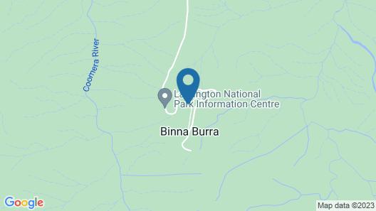 Binna Burra Rainforest Campsite Map