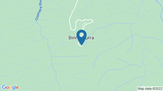 Binna Burra Sky Lodges  Map