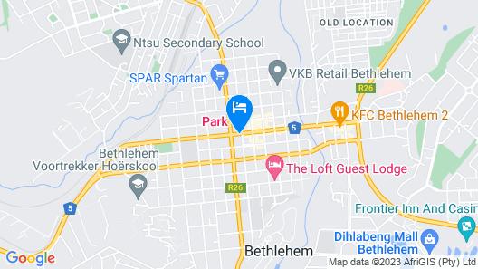 Park Hotel Bethlehem Map