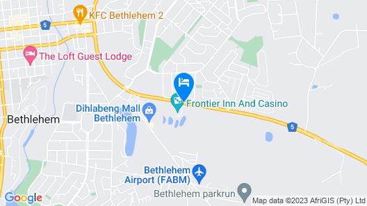 Peermont Metcourt at Frontier, Bethlehem Map