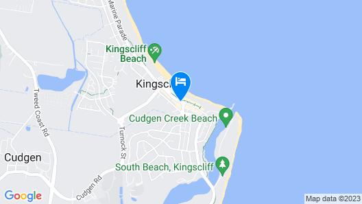 Paradiso Resort Kingscliff Map