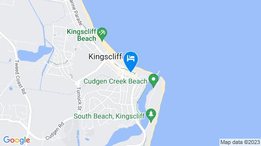 Marine Boutique Apartments Map