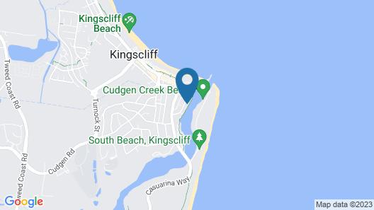 Kingscliff Waters Apt 5 Map