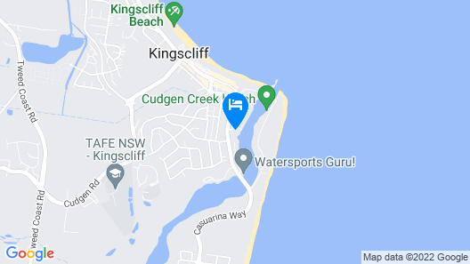 Sunrise Cove Holiday Apartments Map